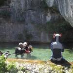 Découverte de la spéléo-plongée @ sources de la tourne | Bourg-Saint-Andéol | Rhône-Alpes | France